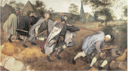 The Blind Leading the Blind by Pieter Bruegel
